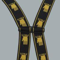 """Brodící kalhoty"""" MAX S5  Fluo"""" žluté - SBM01 Fluo žl.   PROS"""