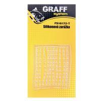 Silikonová zarážka-carp transparent   Graffishing