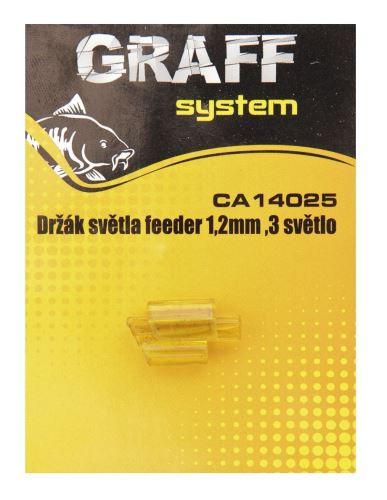 Držák světla feeder 1,2mm ,3 světlo    Graffishing