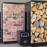 Udírna Bradley Smoker Original 4 rošty + Tapeta brick 07