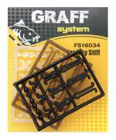 Zarážky Stiff 3ks   Graffishing