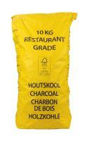 Black Wattle dřevěné uhlí FFC 100% 10kg Yellow bag