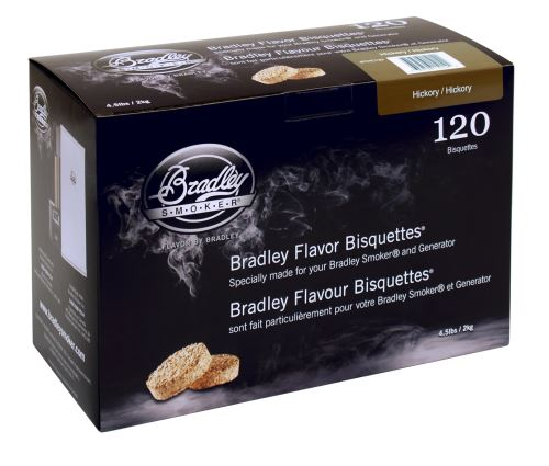 Hickory 120 ks - Brikety udící  Bradley Smoker