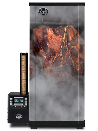 Udírna Bradley Smoker Digital 6 roštů + Tapeta meat 01