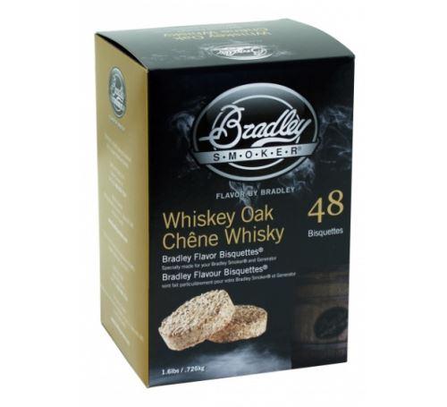 Whiskey Dub 48 ks - Brikety udící Bradley Smoker