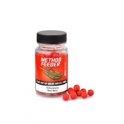 Method/Feeder Fluo Pop-Up Micro Boilies 8mm/35g