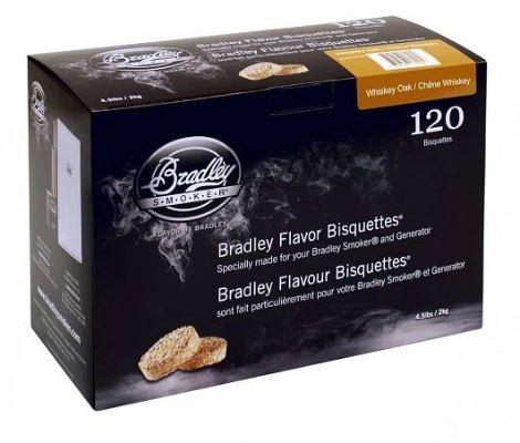 Whiskey Dub 120 ks - Brikety udící  Bradley Smoker