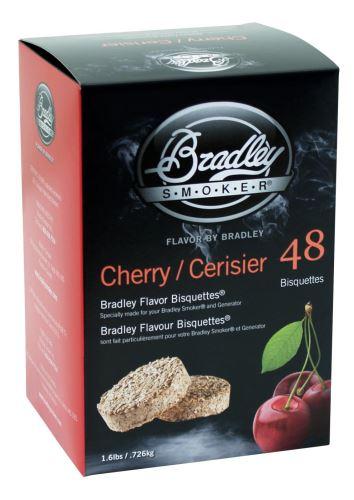Třešeň 48 ks - Brikety udící Bradley Smoker