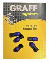 Stopper Big modro/černá   Graffishing