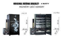 Udírna Bradley Smoker Original Blue 4 rošty - Limitovaná edice