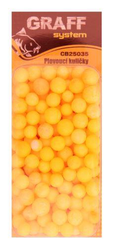 Plovoucí kuličky  žluté   Graffishing