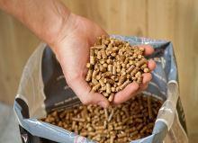 Dřevěné pelety Směs Blend 9 kg