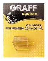 Držák světla feeder 5,2mm, 4,5-6 světlo    Graffishing