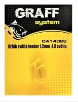 Držák světla feeder 1,2mm, 4,5 světlo  Graffishing