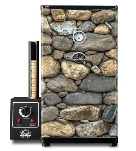 Udírna Bradley Smoker Original 4 rošty + Tapeta brick 01