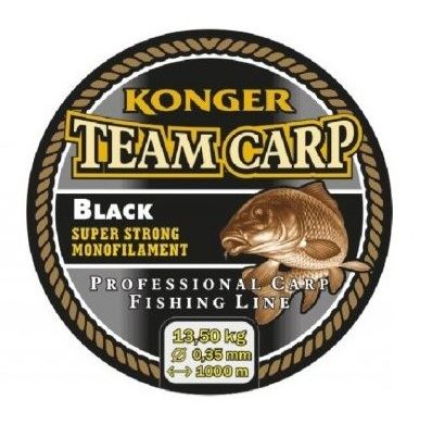 Silon TEAM CARP BLACK 1000m KONGER