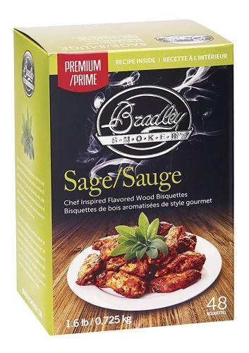Premium Sage 48 ks - Brikety udící Bradley Smoker