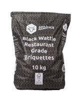 Black Wattle brikety FFC 100% 10kg Grill Fanatics
