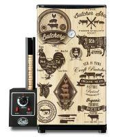 Udírna Bradley Smoker Original 4 rošty + Tapeta wood 18