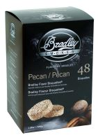 Pecan-Ořech 48 ks - Brikety udící Bradley Smoker