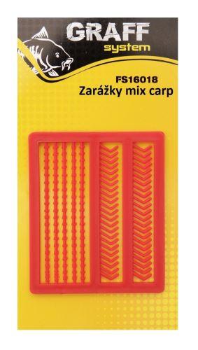 Zarážky Mix Carp červená   Graffishing