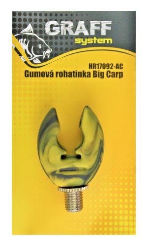 Gumová rohatinka Big Carp anti/camo   Graffishing