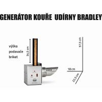 Generátor kouře NEREZ Bradley Smoker