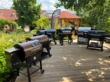 Gril na dřevěné pelety LG700 Akční sada Louisiana