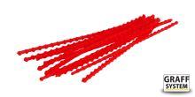 Zarážky na boilie 10 kusů červená   Graffishing